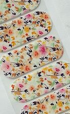 Jamberry 1/2 sheet, SUNDAY BRUNCH, Delicate, Bright Floral