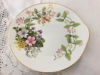 Royal Grafton Country Flowers cake plate