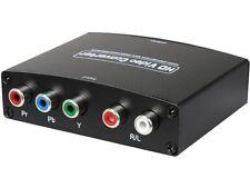 SYBA SY-ADA31048 Component (YPbPr) + RCA Audio to HDMI 1.3 1080p HDTV Converter