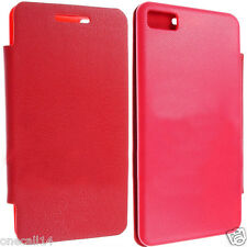 FOR BLACKBERRY Z10 SLIM BATTERY BACK LEATHER CASE COVER POUCH + SCREEN PROTECTOR