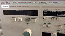 ANRITSU MP1763B PULSE PATTERN GENERATOR 0.05-12.5GHz **OPT 01**