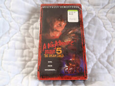 A NIGHTMARE ON ELM STREET 5 THE DREAM CHILD VHS NEW SLASHER HORROR REMASTERED
