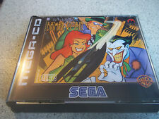 Aventuras de Batman + Robin. Sega Mega CD PAL Estuche + incrustaciones solamente. sin juego