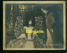 PAULINE FREDERICK CHARLES WALDRON VINTAGE 8X10 PHOTO 1916 LOBBY PHOTO AUDREY