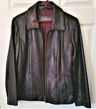 Women's Liz Claiborne Leather Jacket Size Small / Medium