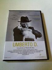 """DVD """"UMBERTO D"""" PRECINTADO SEALED VITTORIO DE SICA MASTER RESTAURADO CRITERION"""