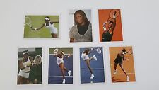 VENUS WILLIAMS - 7 DIFFERENT STICKERS - TOP TENNIS 2007 EDITION