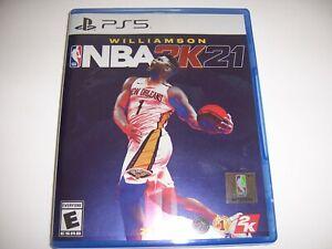 Replacement Box Case NBA 2K21 PlayStation 5 PS5 ORIGINAL AUTHENTIC *NO DISC*