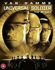 Universal Soldier The Return Blu-ray 2001 Movie 88 Films W/ Slipcover