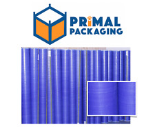 Blue Waterproof Tarpaulin Fabric | Pallet / Case Liner | 200m Rolls