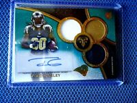 2015 TOPPS TRIPLE THREADS ROOKIE JERSY AUTO TODD GURLEY L.A. RAMS RARE 39/50