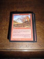MTG Magic the Gathering TERRE BRÛLEE Tempest French NEW RARE