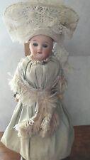 Petite poupée SFBJ 60 Paris 10/0  COIFFE charentes Antic doll