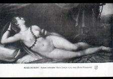 """ART PEINTURE / FEMME avec BIJOUX """"NU"""" par HEINZ JOSEPH au Musée de DIJON"""