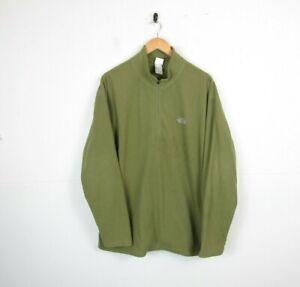 Mens The North Face Quarter Zip Lightweight Fleece Jacket Jumper Size XL - MARKS