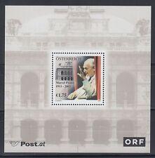 Austria Austria 2003 ** bl.19 Prawy MUSICA MUSIC SCRITTORE WRITER [sr625]
