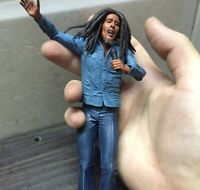 Bob Marley Music Legends Jamaica Singer & Microphone PVC Action Figure 18cm Coll