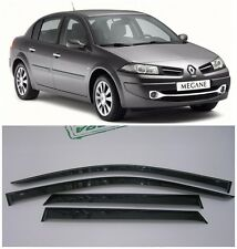 For Renault Megane Sd 2002-2008 Side Window Visors Rain Guard Vent Deflectors