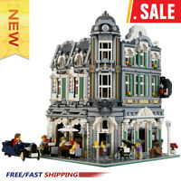 New Building MOC 10255 Assembly Square Alternative build MOC-32576 Blocks Bricks