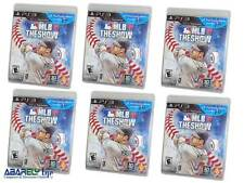 Lot of 6 MLB 11: The Show Sony PlayStation 3