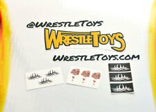 Goldberg TATTOO DECALS FOR FIGURE Bill Goldberg tattoos Custom Wrestling Fix Up