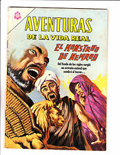 "Aventuras De La Vida Real No 124 -1966 -Spanish -    "" Monster Nimrod Cover! """