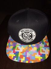 New York City FC Mitchell & Ness NY Football Club Snapback Adj Hat Cap MLS