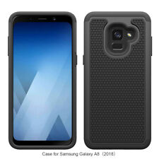For Samsung Galaxy A8 2018 Case Cover Shockproof Rugged Rubber Impact Armor