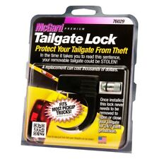 McGard Premium Tailgate Tail Gate Lock Universal Fit 76029 Black w/ Lock + Key