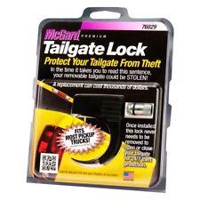 McGard Premium Tailgate Tail Gate Lock Universal Fit 76029 Black w/ Lock + Key