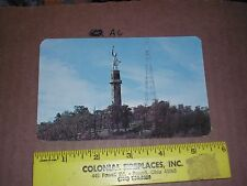 VULCAN RED MOUNTAIN Birmingham Alabama Radio Station Antenna Tower TV Television