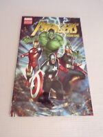 The Avengers Season One Graphic Novel Comic book Marvel Hulk Thor Iron-man