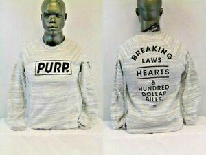 Purple Heart BREAKING HEARTS SWEATSHIRT GREY/BLACK