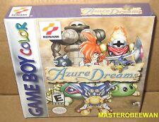 Azure Dreams New Sealed H-Seam (Nintendo Game Boy Color, 1999) GBC