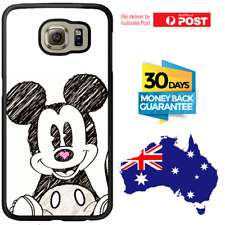 Galaxy S9 S9 Plus S8 S7 Edge Note 8 5 Rubber Case Cute Mickey Mouse For Samsung