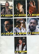 Cryptozoic Ghostbusters 2016 Character Bios Chase Card Set C1-7