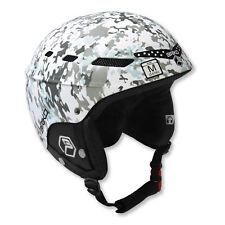 NEW Briko Boom MY09 Ski/Snowboard Helmet Adult S / Kids M (50-52) Camo/Snow
