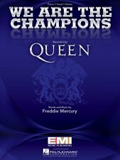 We Are the Champions Sheet Music Piano Vocal Queen NEW 000353373