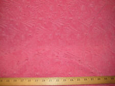 "FRESH PINK ACETATE RAISED JACQUARD 4 WAY STRETCH FUKURO KNIT FABRIC 48"" W BTY"