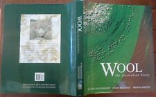 Wool The Australian Story Richard Woldendorp 2003 First edition Hardback & Dj