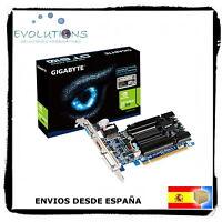 TARJETA GRAFICA GIGABYTE GeForce GV-N610D3-2GI 2GB DDR3 NVIDIA