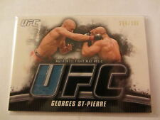 Georges St.Pierre 2010 Topps UFC Authentic Fight Mat Relic #284/288