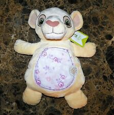 "NWT Disney Baby Lion King Nala Comfort Pink Plush Security Blanket Toy 15"" NEW"