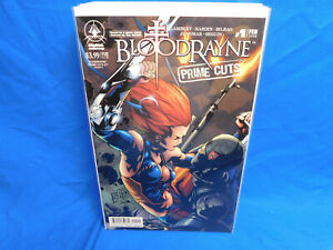 BloodRayne Prime Cuts Comic #1 Cover B Variant Digital Webbing VF/NM