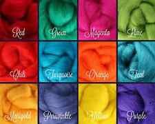 Opposites Palette Wool Roving Fiber 3 oz./ 84 grams Needle Felting Spinning Soap
