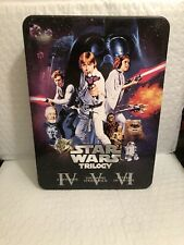 Star Wars Theatrical Trilogy Limited Edition DVD Best Buy Exclusive Tin Case Set