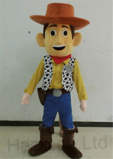 Toy Story Woody Mascot Costume Cosplay Dress Adult Size