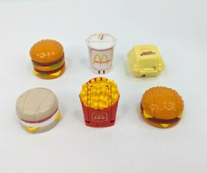 Vintage Set of McDonald Toys 1987 Changeables Transformers - COMPLETE