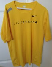 Nike Livestrong Bike Shirt Jersey Large Lance Armstrong