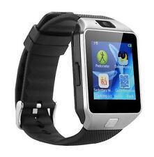 Smartwatch Handy Uhr Smart Watch Android IOS mit SIM Slot Farbe silber schwarz